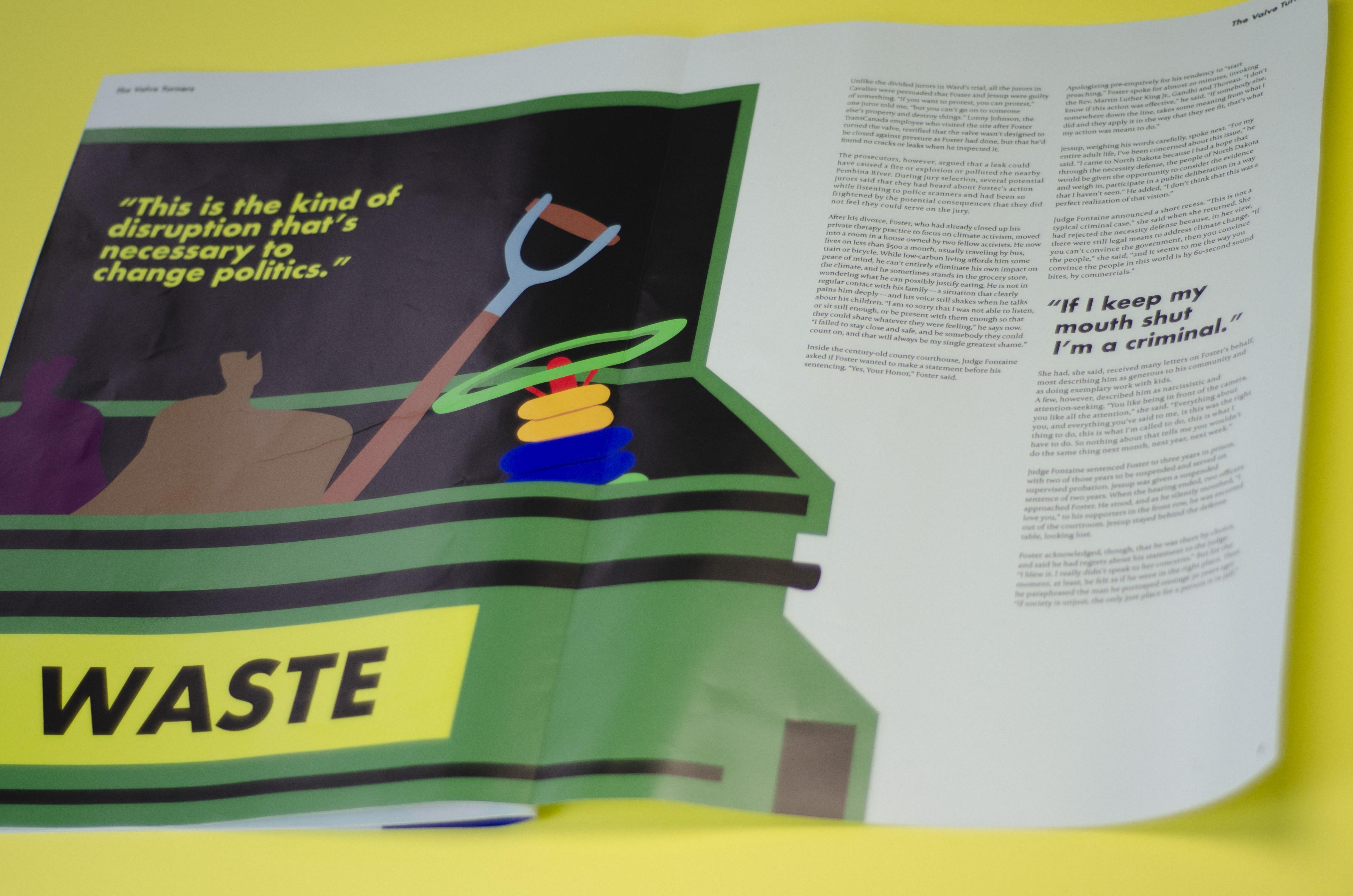 final printed editorial dylan wert graphics. Black Bedroom Furniture Sets. Home Design Ideas